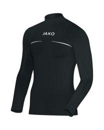 JAKO Shirt opstaande kraag Comfort zwart