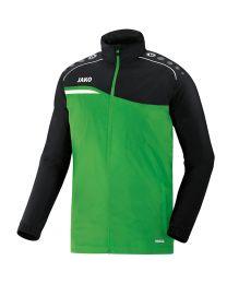 JAKO Regenjas Competition 2.0 soft groen/zwart