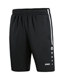 JAKO Trainingsshort Active zwart/wit