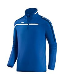 JAKO Ziptop Performance royal/wit/marine
