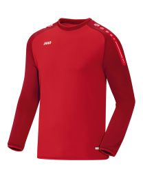 JAKO Sweater Champ rood/donkerrood