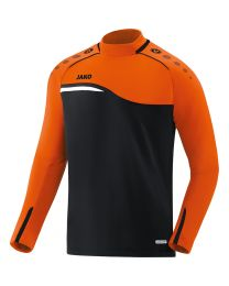 JAKO Sweater Competition 2.0 zwart/fluo oranje