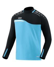 JAKO Sweater Competition 2.0 aqua/zwart