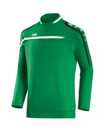 JAKO Sweater Performance sportgroen/wit/zwart
