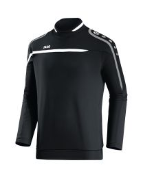 JAKO Sweater Performance zwart/wit/grijs