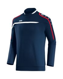JAKO Sweater Performance marine/wit/rood
