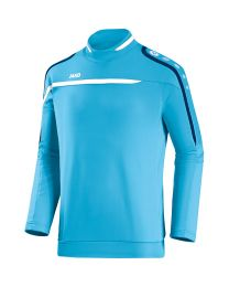 JAKO Sweater Performance aqua/wit/marine