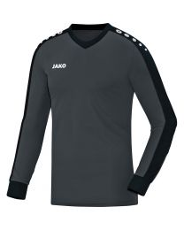 JAKO Keepershirt Striker antraciet/zwart