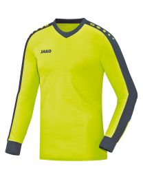 JAKO Keepershirt Striker lime/antraciet