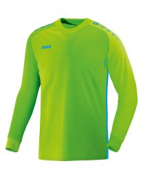 JAKO Keepershirt Competition 2.0 fluo groen/JAKO blauw