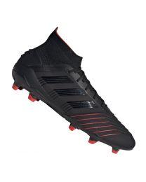 Adidas PREDATOR 19.1 FG cblack/cblack/actred