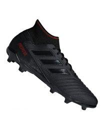 Adidas PREDATOR 19.3 FG cblack/cblack/actred