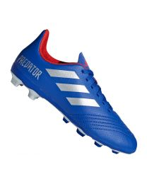 Adidas PREDATOR 19.4 FxG J boblue/silvmt/actred