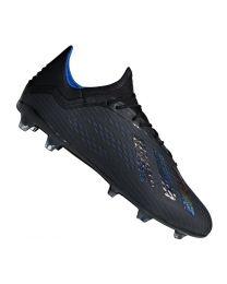 Adidas X 18.2 FG cblack/cblack/boblue