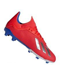 Adidas X 18.3 FG J actred/silvmt/boblue