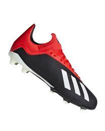 Adidas X 18.3 FG J cblack/owhite/grefou - cblack/owhite/grefou