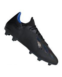 Adidas X 18.3 FG cblack/cblack/boblue