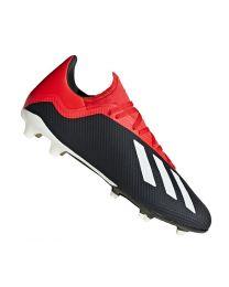 Adidas X 18.3 FG cblack/owhite/grefou - cblack/owhite/grefou