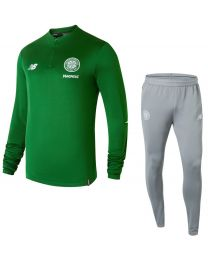 New Balance Celtic Elite Drill suit groen