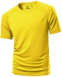 Polyester shirt geel heren Donitas