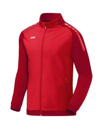 Jako Champ Polyestervest Rood Donkerrood