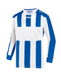 JAKO Shirt Milan LM wit/royal