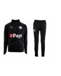 Puma FC Groningen 1/4 zip suit 18/19 zwart