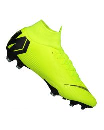 SUPERFLY 6 PRO FG 701_volt/black - geel-multicolour