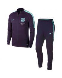 Fcb M Nk Dry Sqd Trk Suit K purple