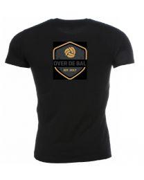 Shirt Over de Bal (Zwart)