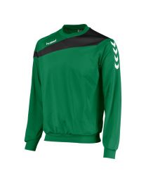 Hummel Elite Top Round Neck Groen Zwart