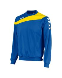 Hummel Elite Top Round Neck Blauw Geel
