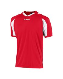 Hummel Everton Shirt KM Rood Wit