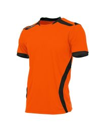 Hummel Club Shirt KM Oranje Zwart