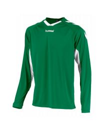 Hummel Everton Shirt LM Groen Wit