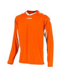 Hummel Everton Shirt LM Oranje Wit