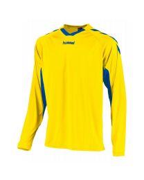 Hummel Everton Shirt LM Geel Blauw