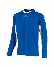 Hummel Everton Shirt LM Blauw Wit