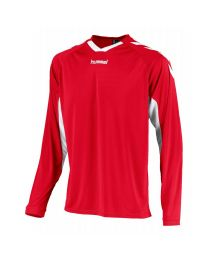 Hummel Everton Shirt LM Rood Wit