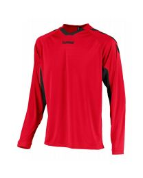 Hummel Everton Shirt LM Rood Zwart