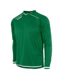 Hummel Leeds Shirt LM Groen Wit