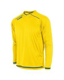Hummel Leeds Shirt LM Geel Blauw