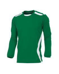 Hummel Club Shirt LM Groen Wit