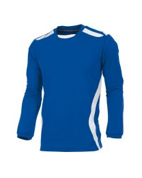 Hummel Club Shirt LM Blauw Wit