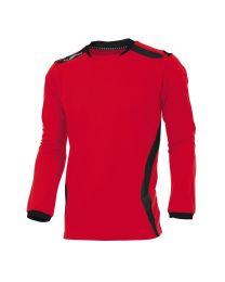 Hummel Club Shirt LM Rood Zwart