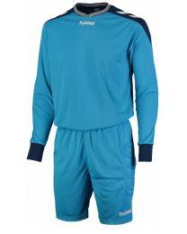Hummel Basel Keeper Set Blauw Zwart
