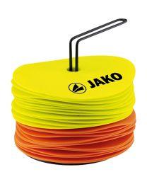 JAKO Markeerschijven fluo geel/fluo oranje