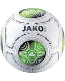 JAKO Trainingsbal Match 14 p./handgenaaid wit/zwart/groen