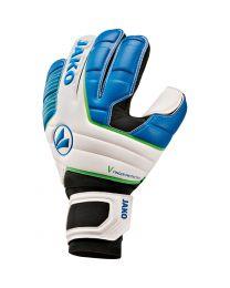 JAKO Keeperhandschoen Champ One RC Protection wit/JAKO blauw/fluo groen
