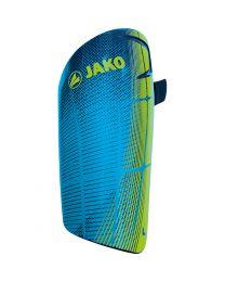 JAKO Scheenbeschermer Competition Light fluo groen/marine/JAKO blauw